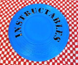 Make a Custom Frisbee