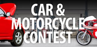 Car and Motorcycle Contest