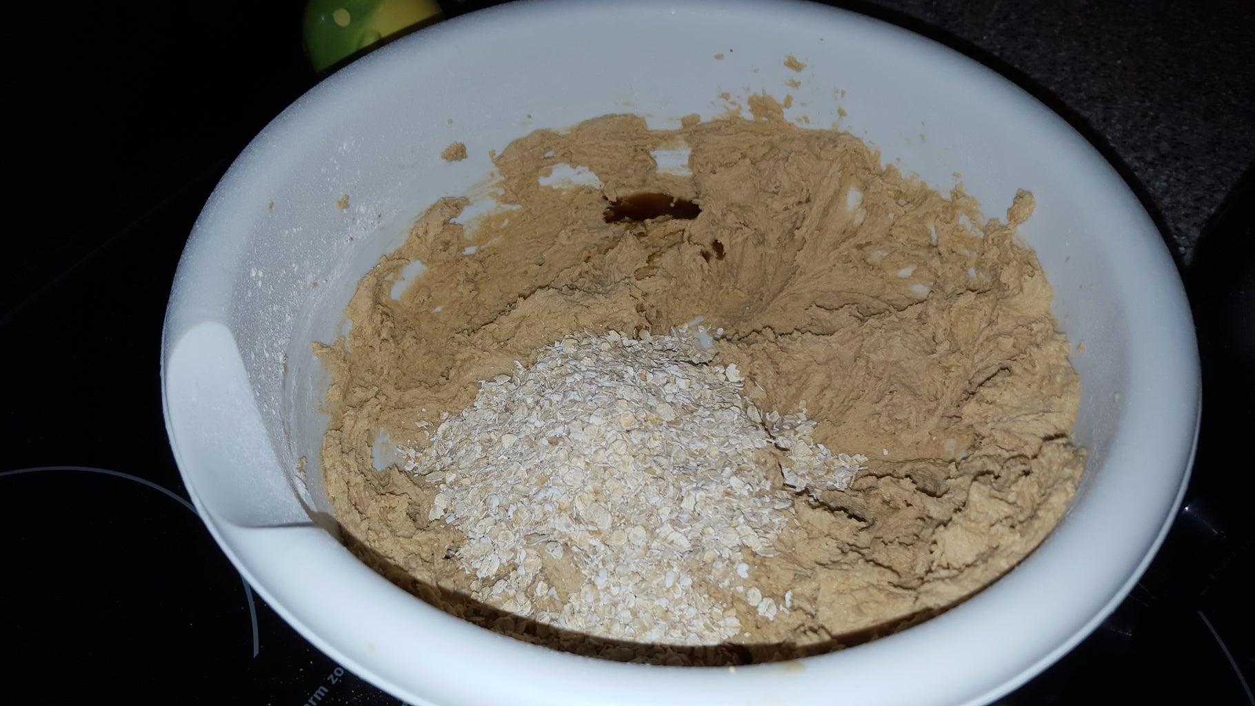 Add Oats and Vanilla