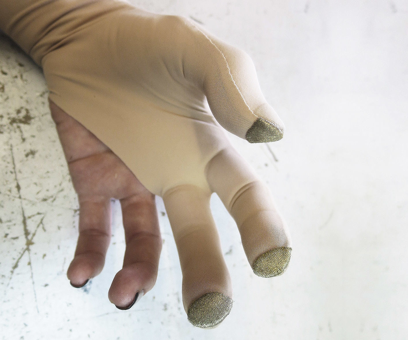 ETextile Glove With Conductive Fabric