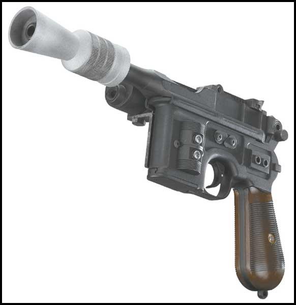 Build a Alternative Han Solo Blaster