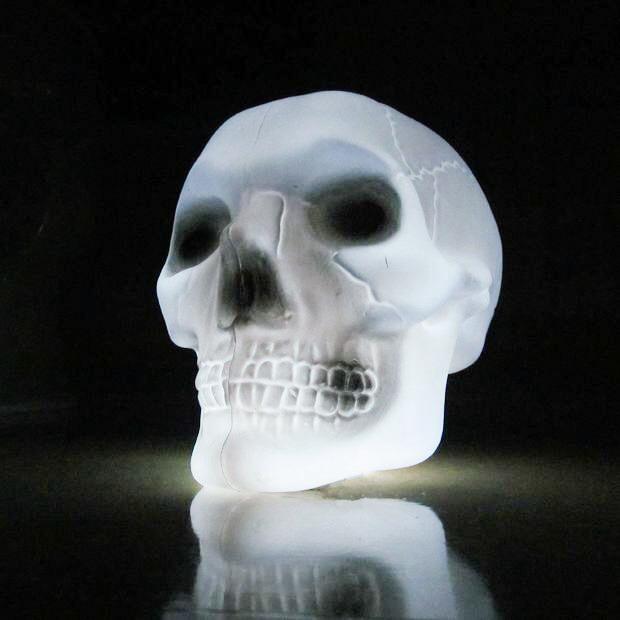 Dollar Store Skull Strobe Light