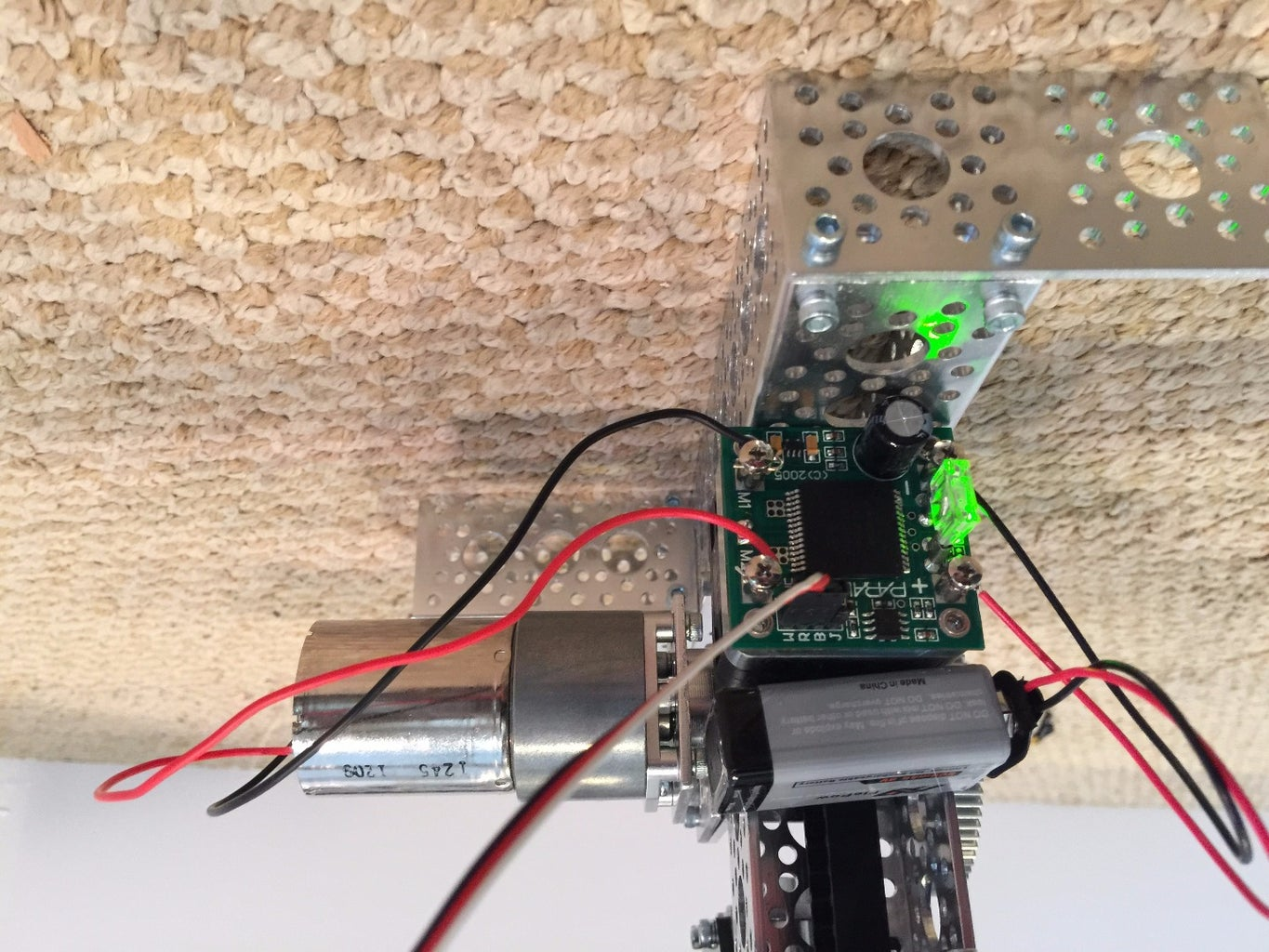 Install the Electronics and Wiring.