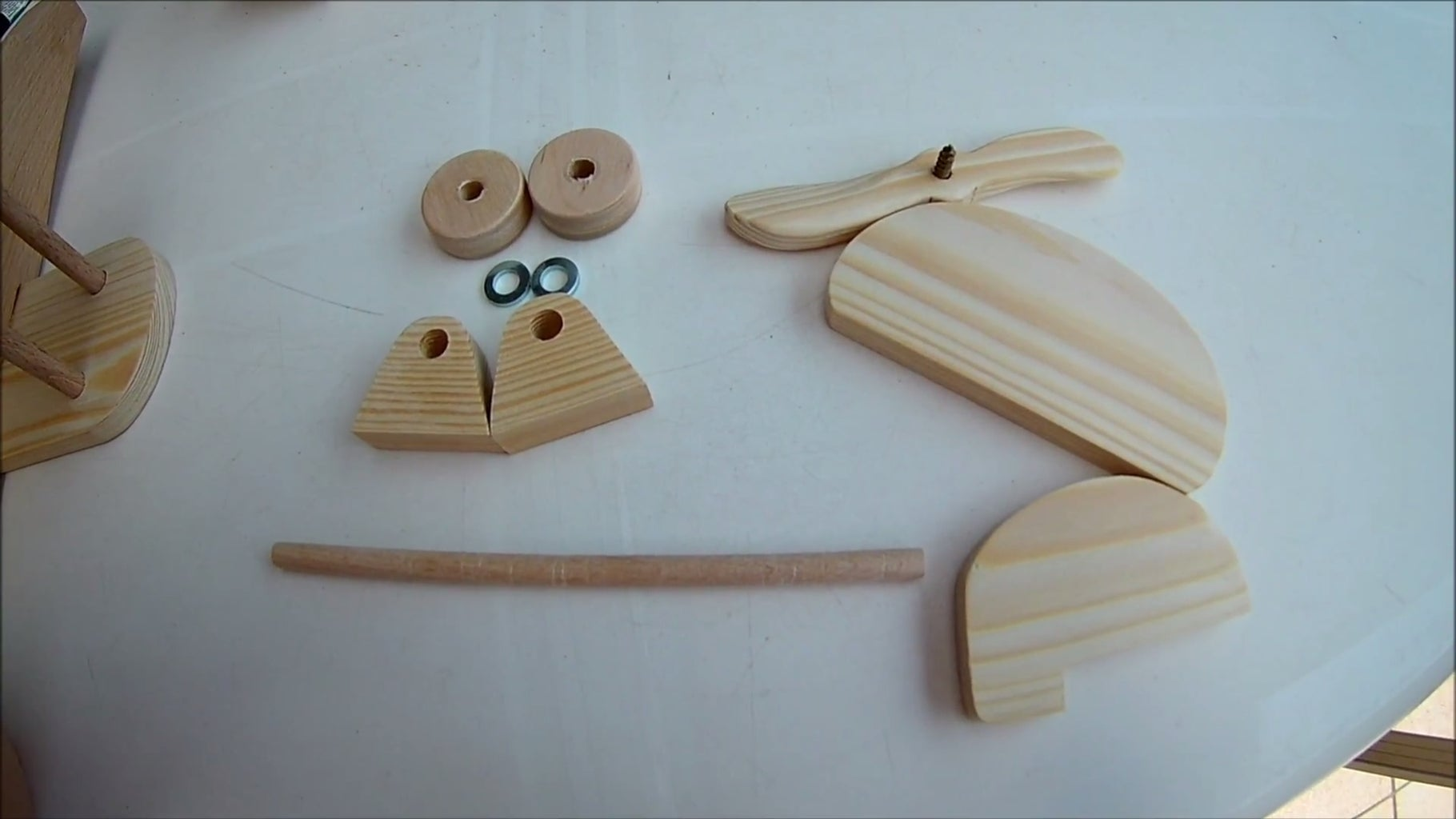 Step 3: the Smaller Parts of the Biplane