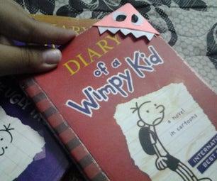 DIY Monster Bookmark