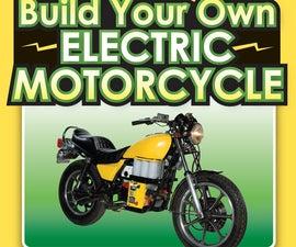 打造自己的电动摩托车