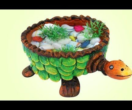 How to Make a Lucky Turtle Home Decor Using Plastic Ball?