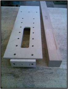 Leg Indent and Router Jig