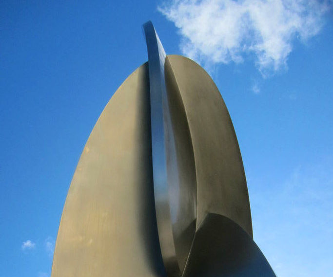 Big Stainless Steel Sculpture Part 4