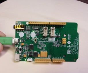 Checking If the Serial Monitor Works With Mediatek LinkIt One