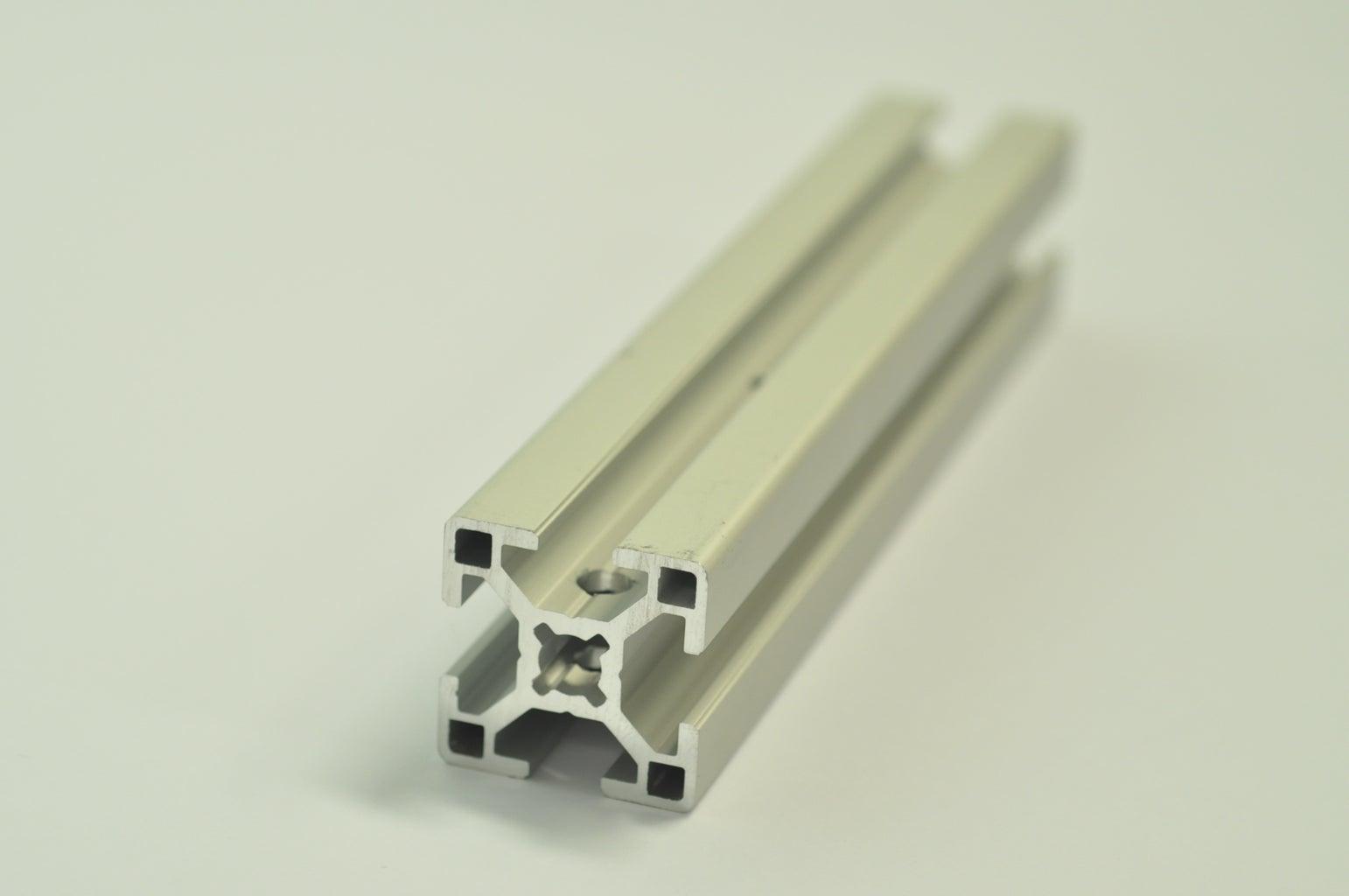 Thread the Aluminum Profiles