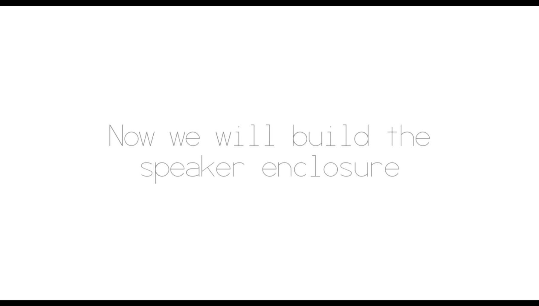 Speaker Enclosure