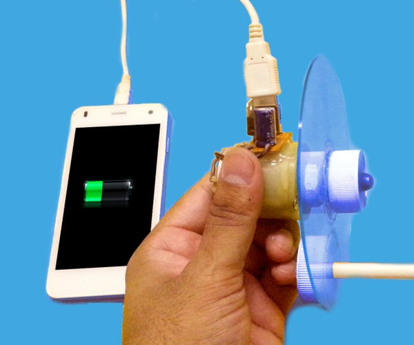 How to Make a Hand Powered USB Charger