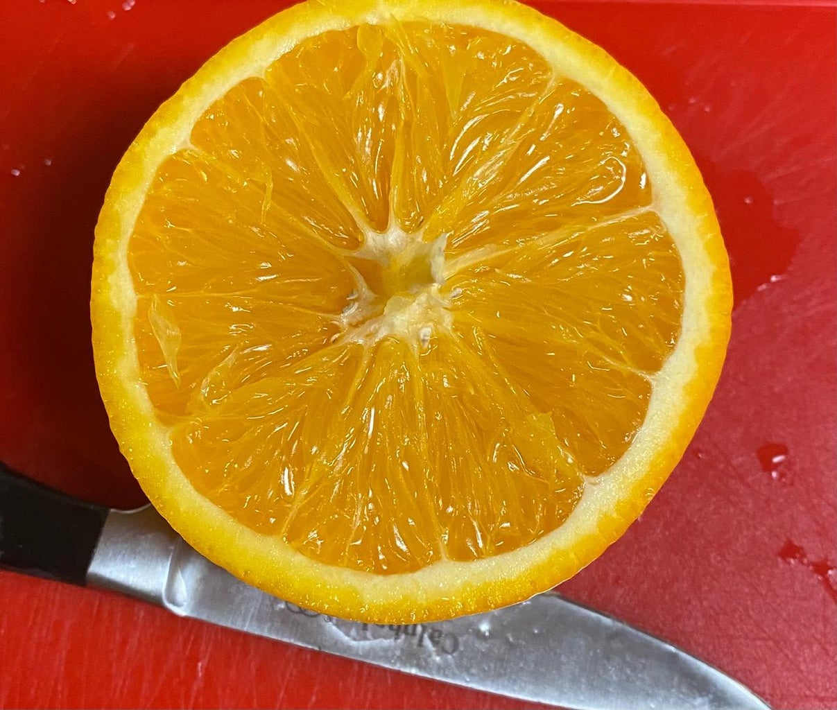 Preparing Orange: