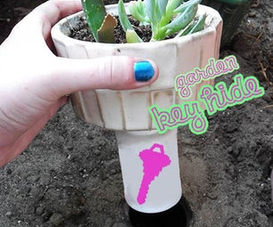 Easy Garden Key Hide