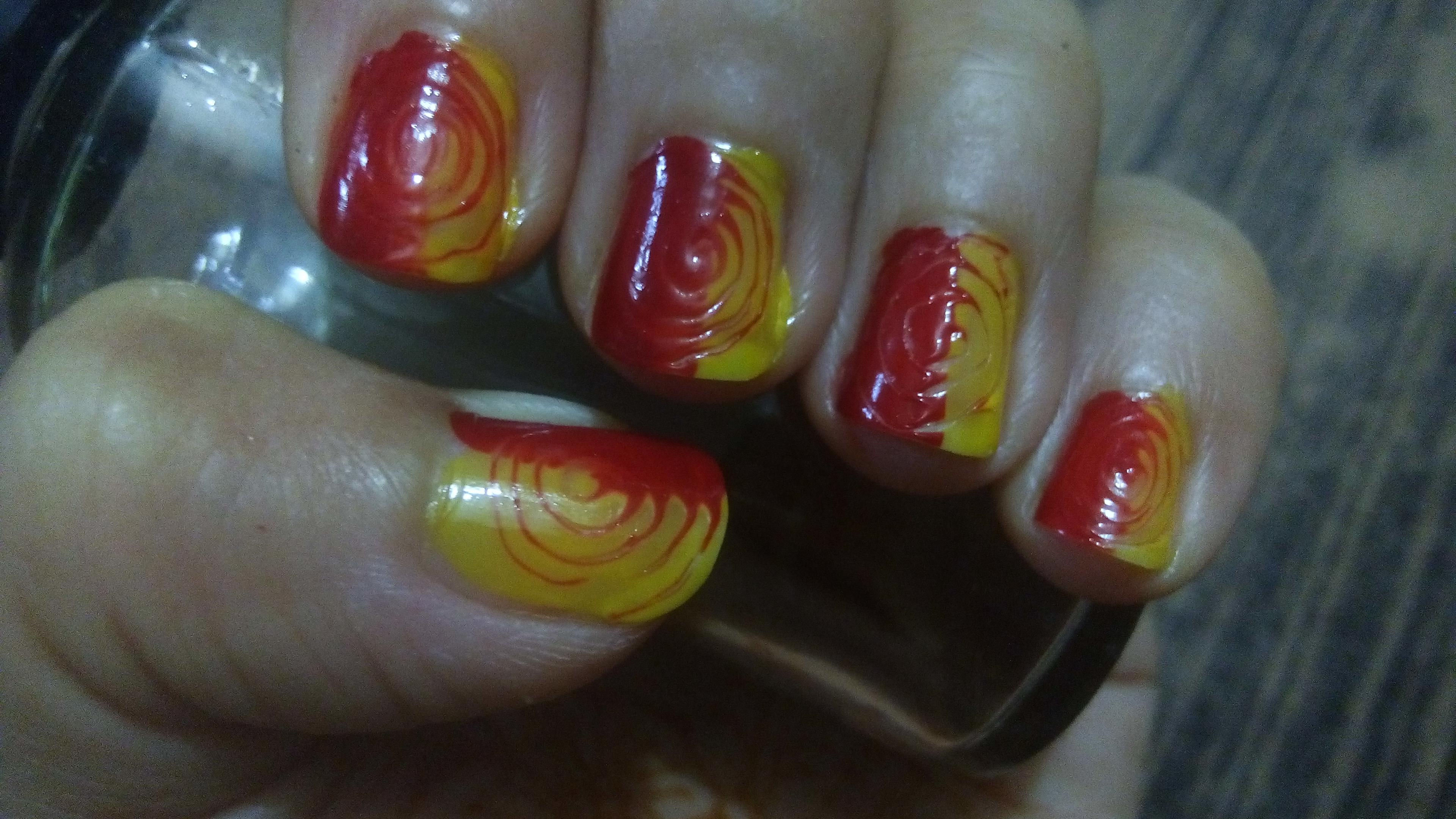 3 step nail art