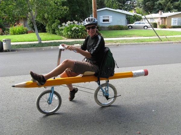 Pencil Bike