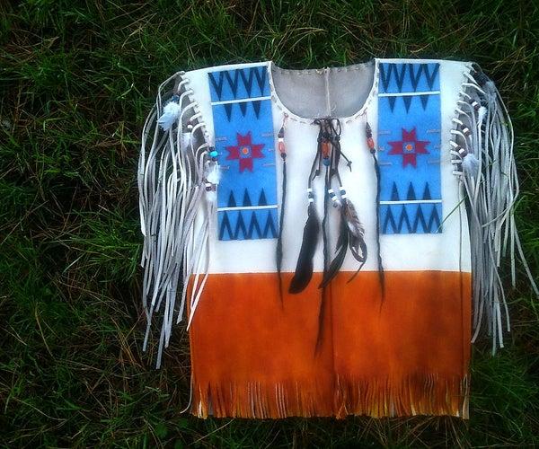 Native American  'Buck Skin Shirt'