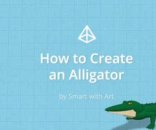 How to Create an Alligator