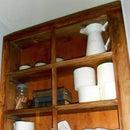 Upcycled Window Cabinet