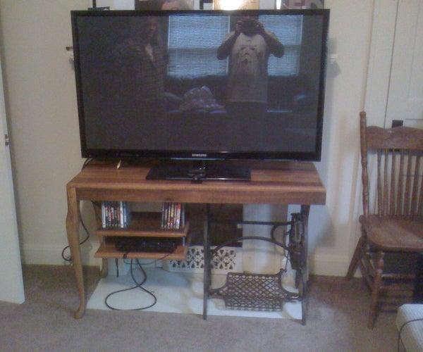 Barn Wood TV Table