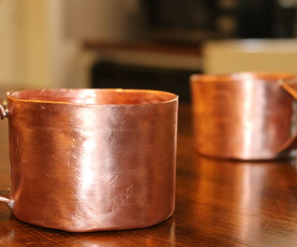 "DIY Copper Cup From 3/4"" Pipe"