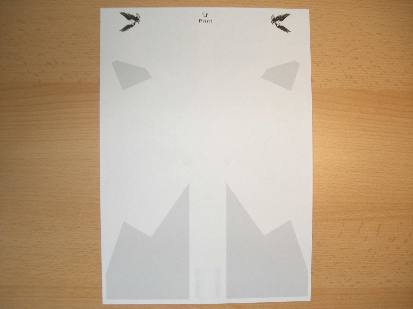 Take a Sheet of Paper (A4 or Letter)