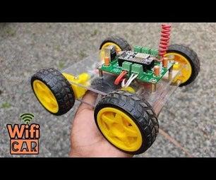 How to Make a WIFI (Nodemcu) Car