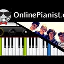 One Direction - One Thing - Piano Tutorial