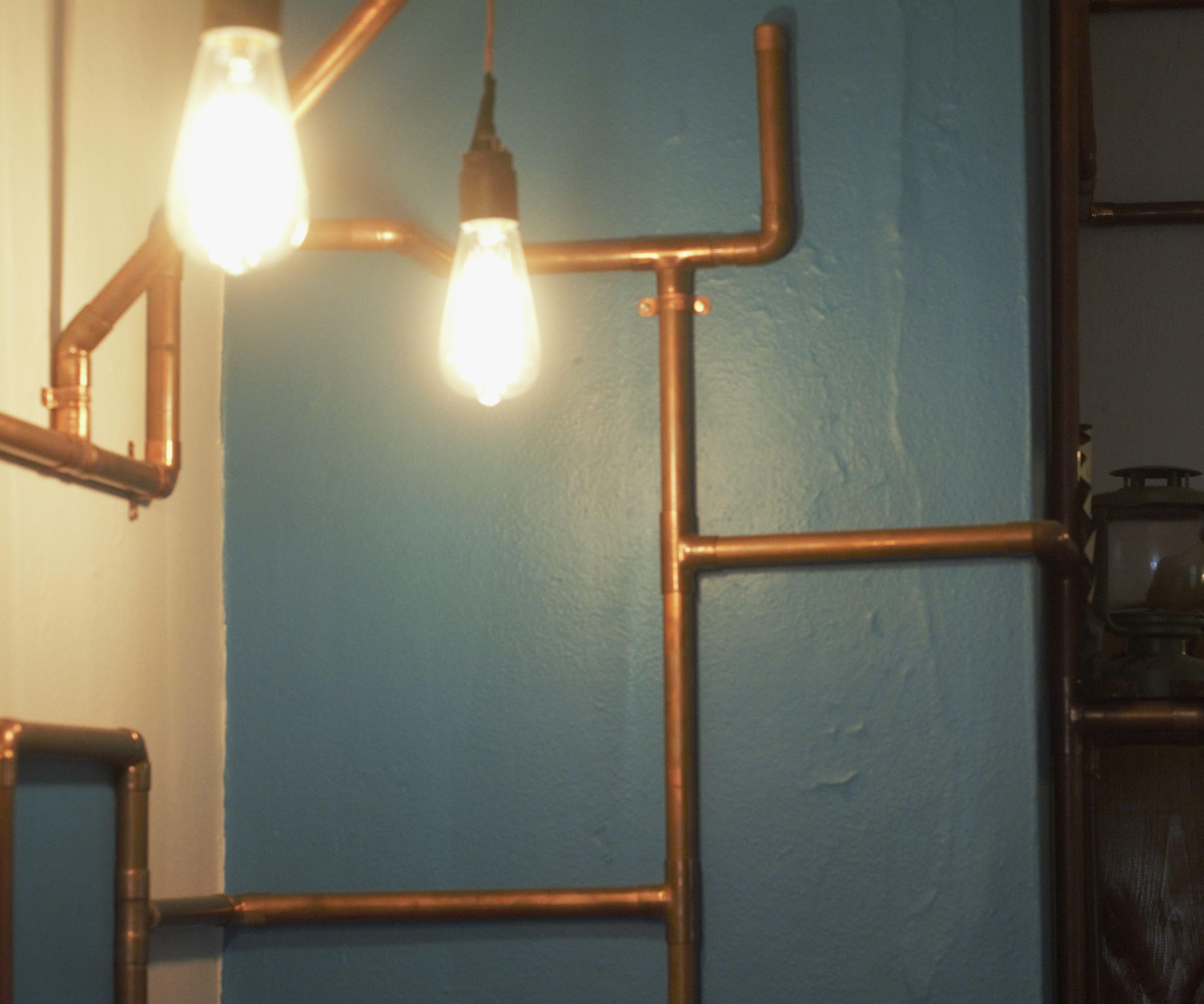 Copper Wall Lamp