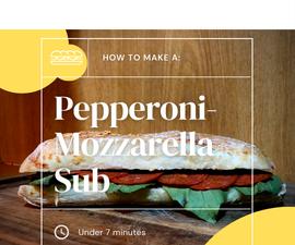 Pepperoni-Mozzarella Sub