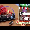 LED Chaser Circuits Using IC4017 and Arduino