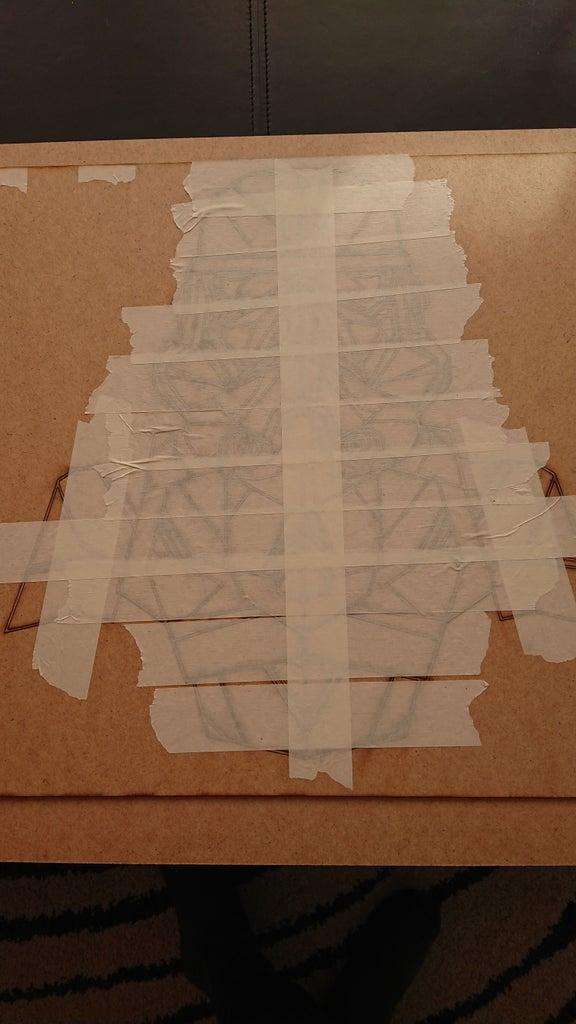 Lasercutting the Tiles