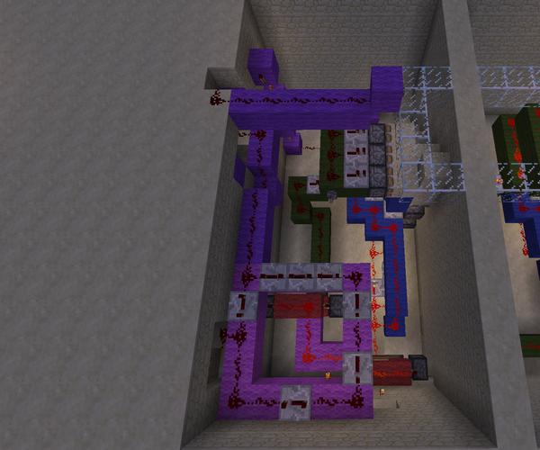 Hidden Minecraft Stairs