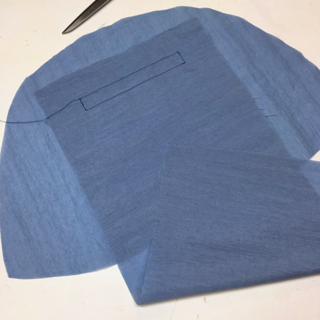 Adding Inside Pockets to Lining Pieces