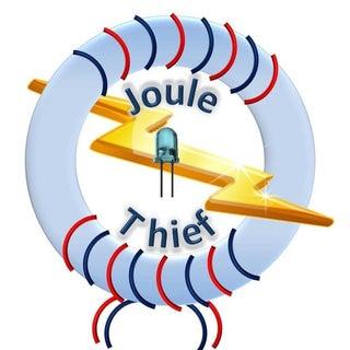 Basic Joule Thief Flashlight