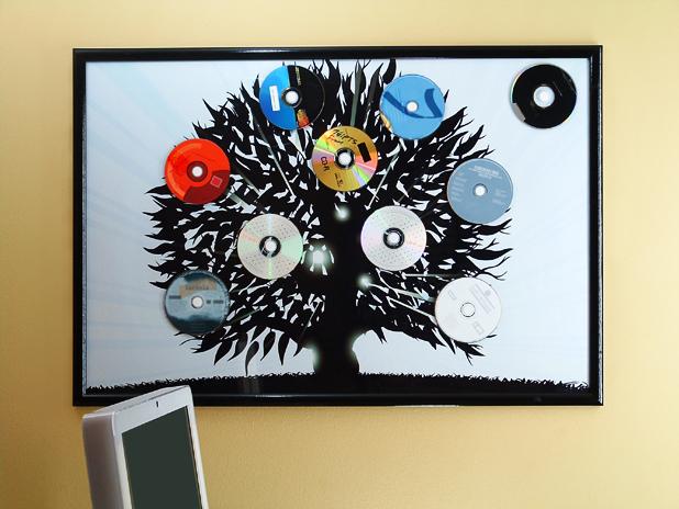 Poster Magnet Board