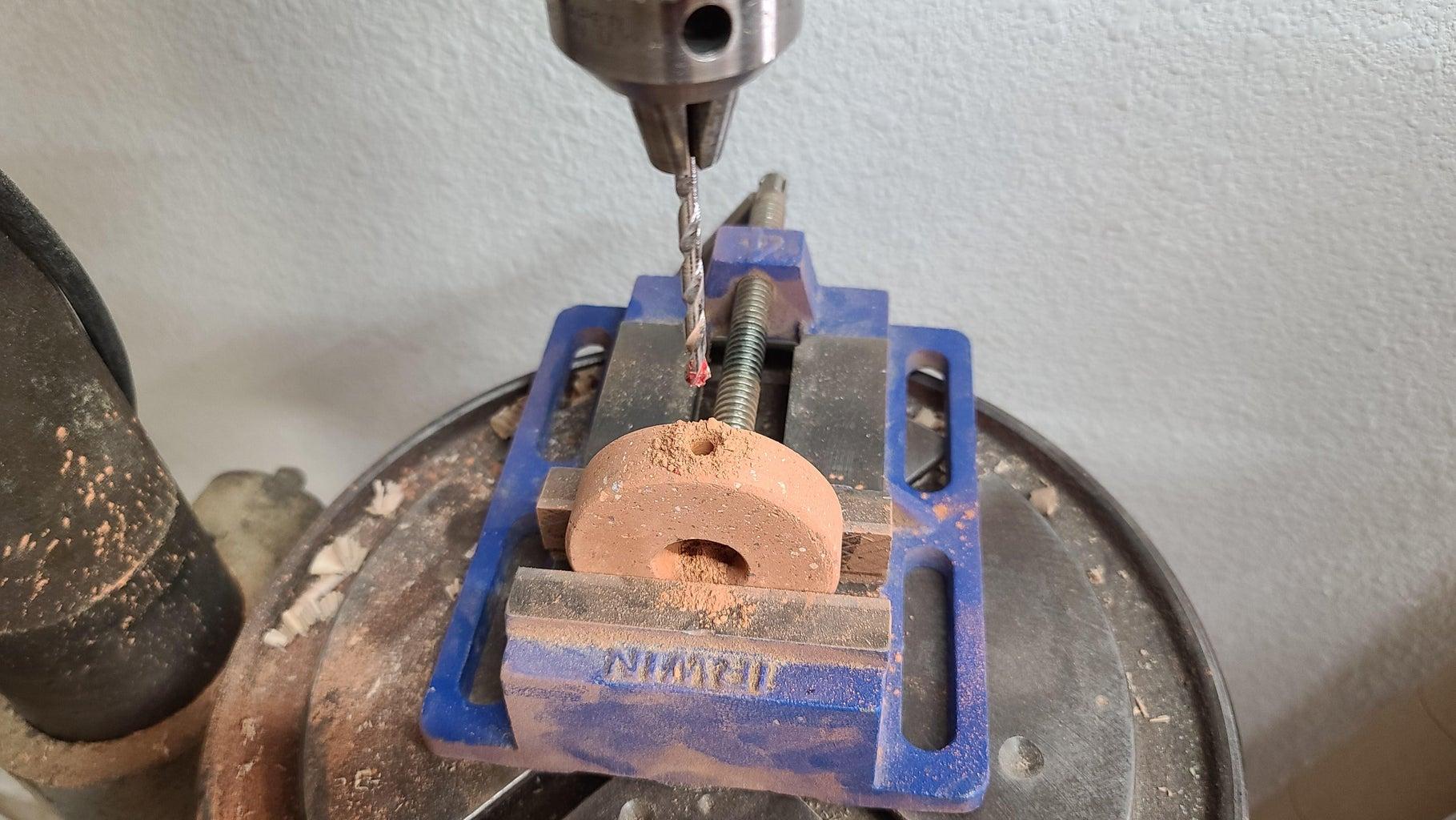 Drill Nail Hole