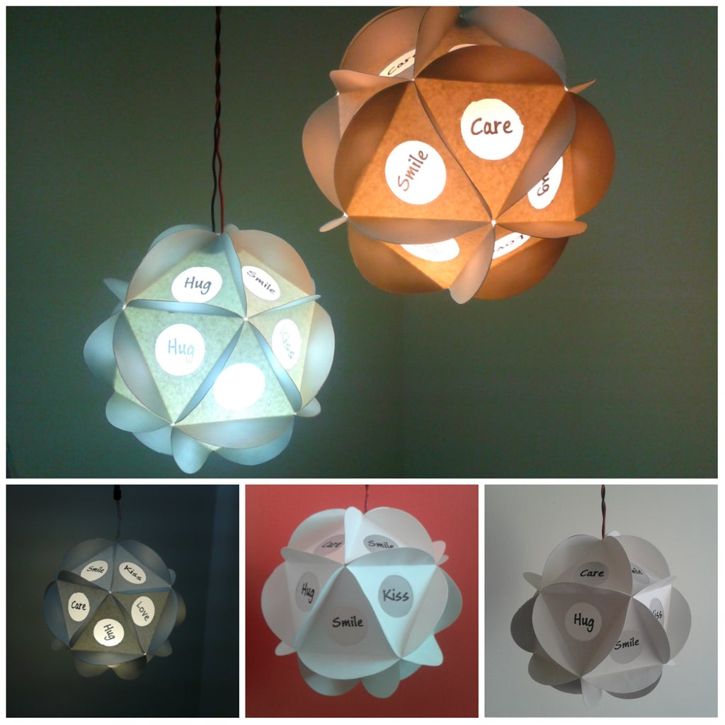 Easy, Cheap, Awesome Looking TLC Pendant Paper Lamp A.k.a Tender, Love & Care Pendant Paper Lamp