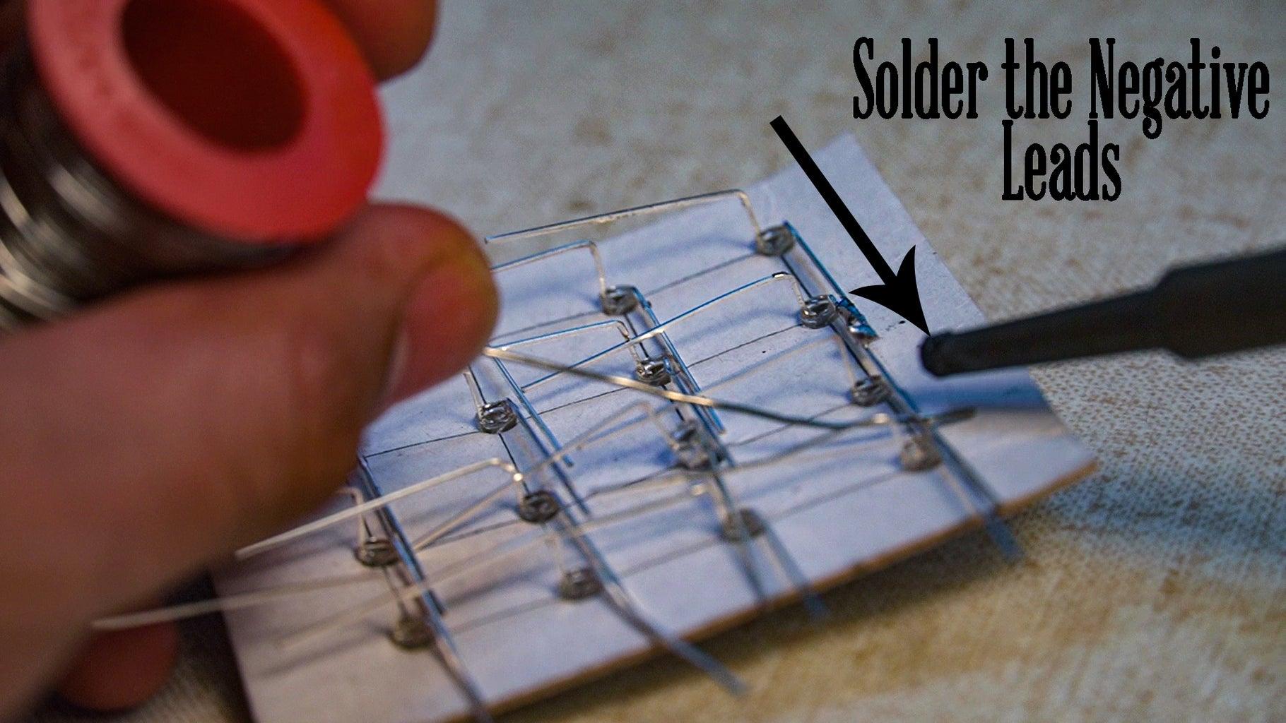Solder LED Column Layer