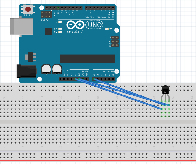 LM35 Temparature Sensor With Arduino