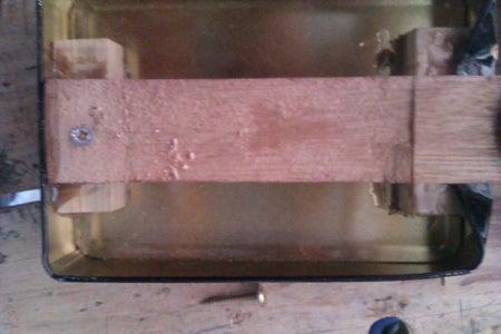 Varnish, Dry Fit, Last Minute Trim Glue and Screw