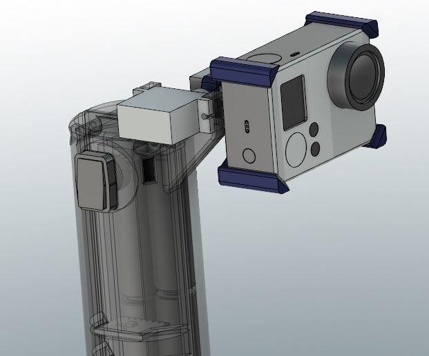 GoPro Stabilizer Project - Arduino Nano
