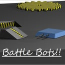 3D printable Battle Bots!! CAD Designed