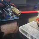 Arduino Encoded and Modulated Laser and Infrared Serial Communication