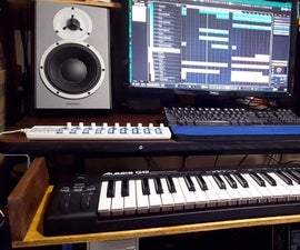 Music Keyboard Drawer