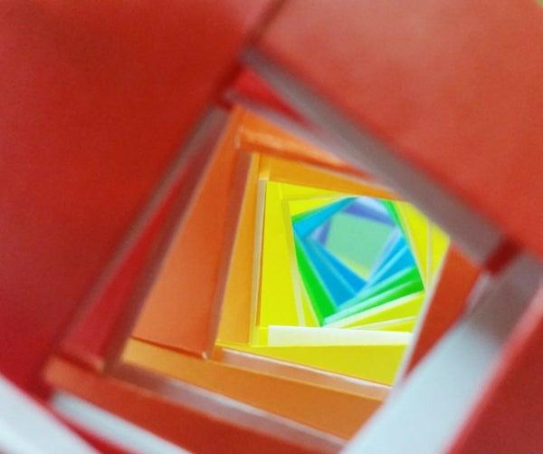 Origami Rainbow Chain