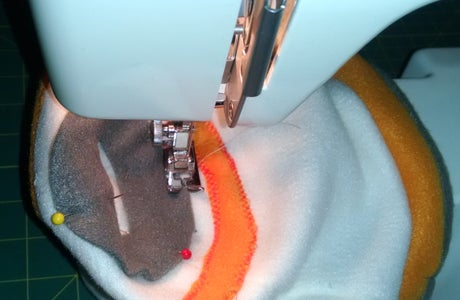 Attaching the Gray Band