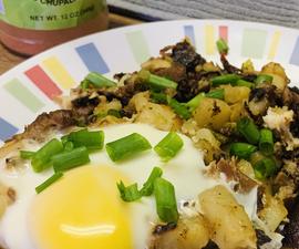 Leftover Brisket & Potato Hash