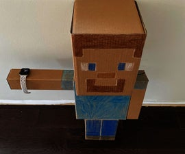 Out of the Box Minecraft Steve Apple Watch Charger